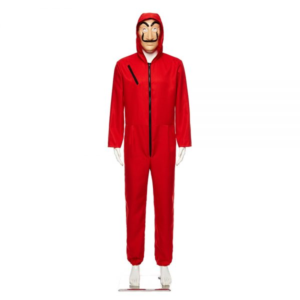 Money Heist Halloween Costume For Kid And Adult