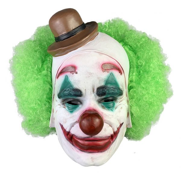 joker silicone mask for halloween