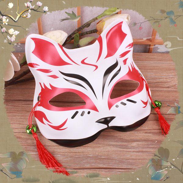 Kitsune Kabuki Mask