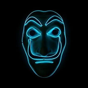 Money Heist Dali Mask LED Blue