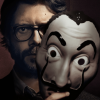 el professor money heist mask