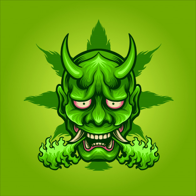 green oni demon