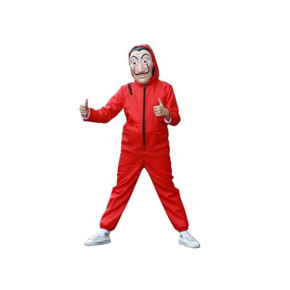 money heist costume kid