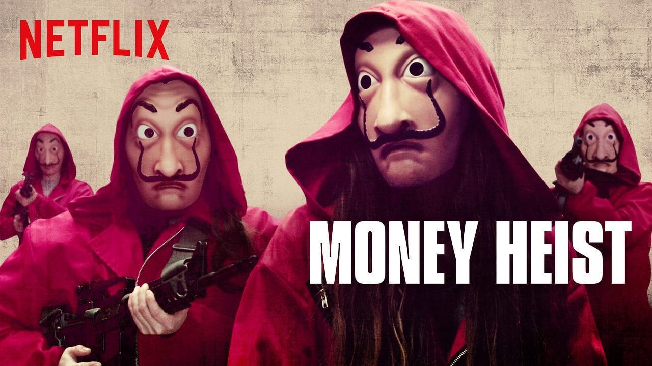 money heist dali mask