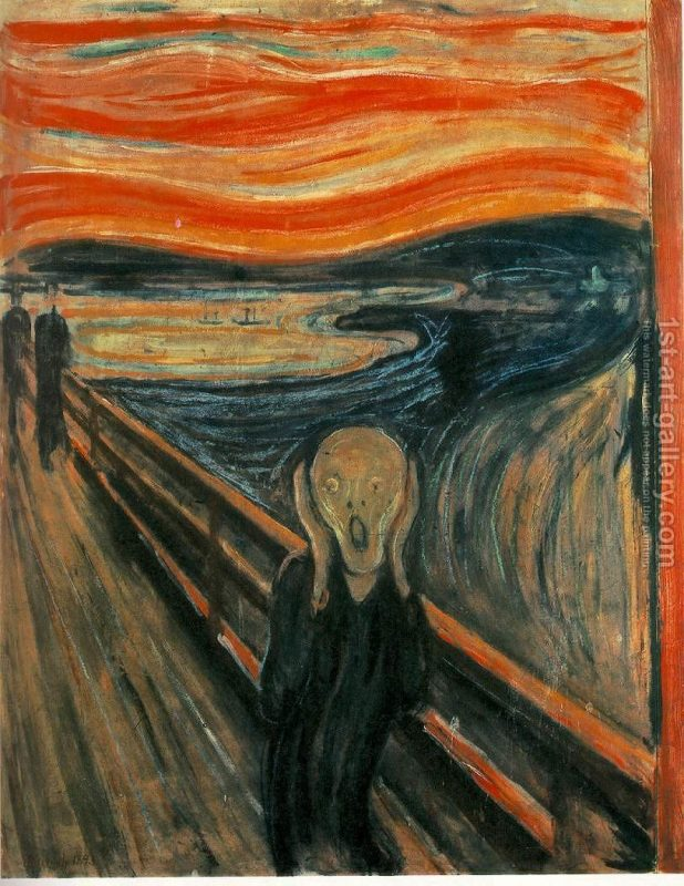 munch edvard the scream painting