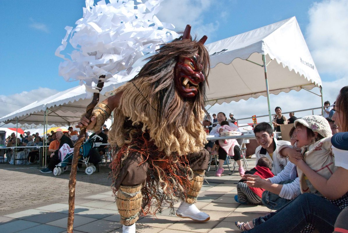 Namahage in Noshiro oni tradition