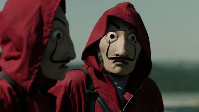 the money heist mask