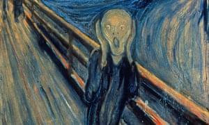 the scream munch